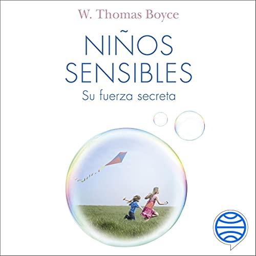 Diseño de la portada del título Niños sensibles
