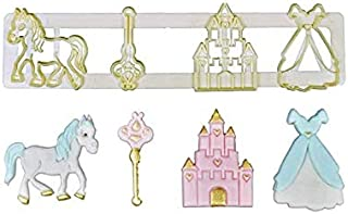 S.Han Fondant Mould Fairy Tale Cookie Cutter Mold Cake Decoration Tool Baking
