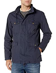Cold-weather style has never been easier with this essential layer Features a button-front and zip-up plackets and with two top entry chest pockets, two lower body pockets and two side entry pockets. Everyday made better: we listen to customer feedba...