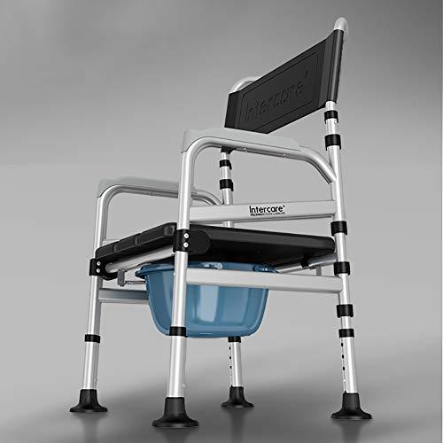 XER WC-Stützhilfe Folding herausnehmbar Toilette rutschfest Toilette Haushalt Toilette Stahl Greifen Schienen zum das Behindert das Alten Schwanger Frauen