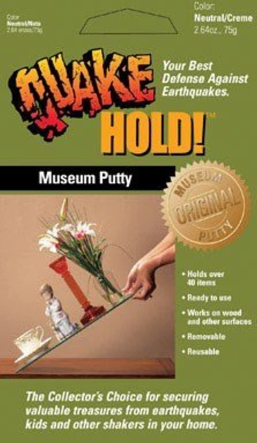 QuakeHOLD Anchoring Putty by Ready America
