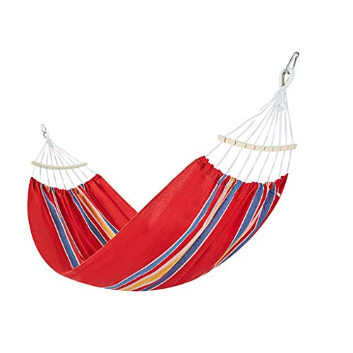 XUANLAN Hamac Jardin Balançoire Lit Portable Camping en Plein Air Jardin Suspendus Chaise Hamac De Couchage (Color : F, Taille : 2 * 1.5M)