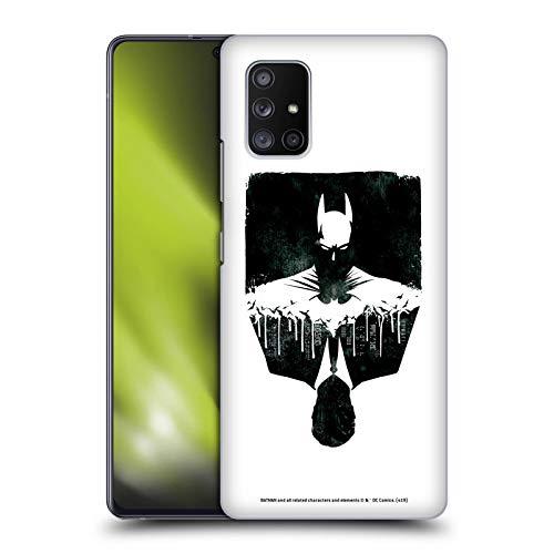 Head Case Designs Oficial Batman DC Comics Alter Ego Paisaje Urbano Dualidad Carcasa rígida Compatible con Samsung Galaxy A71 5G (2020)