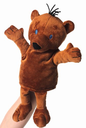 Janosch 795174 - Handspielpuppe, kleiner Bär