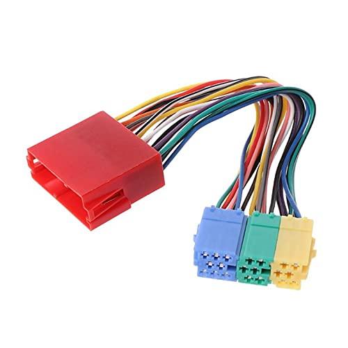 Qinndhto Coche MP3 Interfaz de Radio del Jugador CD Cambiador USB SD AUX IN Apto para Audi A2 A4 A6 S6 A8 S8 Adaptadores