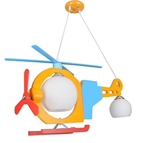 owow simple moderne salle pour enfants merveilleux et refroidir avions américains LED Cartoon plafonnier pour les garçons ou filles séjour Décoration plein d'imagination, 800 * * 800 560 mm