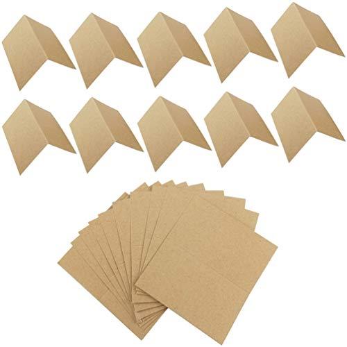 PRETYZOOM 100 Stück DIY Papier Leere Karten Vintage-Stil Tisch Zelt Karten Handgemachte Malerei Postkarten Nachricht Notiz Schreiben Papierkarten für Geburtstag Hochzeitstag Festival