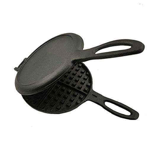 Wafle Maker, Waffle Maker Electric, Sandwich Maker Gusseisen Waffelmaschine, Outdoor Sandwich Grill, Professionelle Belgische Waffel Gaskocher Kuchen Backform