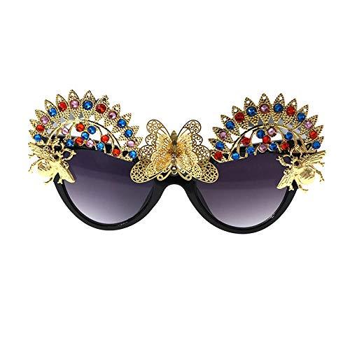 Sonnenbrille Damen Sonnenbrille Trend Sonnenbrille Sommer Sonnencreme Sonnenbrille Schmetterlingsbrille Sonnenbrille Anti-UV Sonnenbrille Schatten Brille