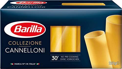 Barilla Hartweizen Pasta Collezione Cannelloni – 4er Pack (4 x 250g)