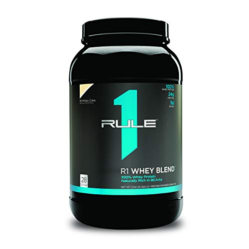 R1 Whey Blend, Rule 1 Proteins (Birthday Cake, 28 Servings)