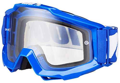 Preisvergleich Produktbild 100% Accuri Goggle Anti Fog Clear Lens / reflex blue 2018 Goggles
