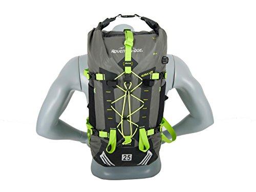 Adventuridge Drypack Trekking-Rucksack Motorrad-Rucksack 100% wasserdicht