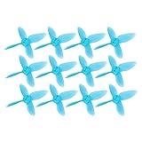 3 Colores 2 PulgadasABS Micro RC Drone Hlices de 4 Palaspara Babyhawk(Rojo Transparente)
