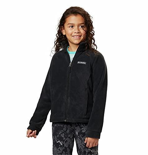 Columbia Girls Benton Springs Fleece Jacket, Black, Small