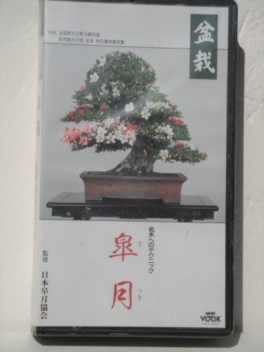 BONSAI SATSUKI~Meiki e no Technique: NHK VISUAL BOOK VHS (JAPANESE)