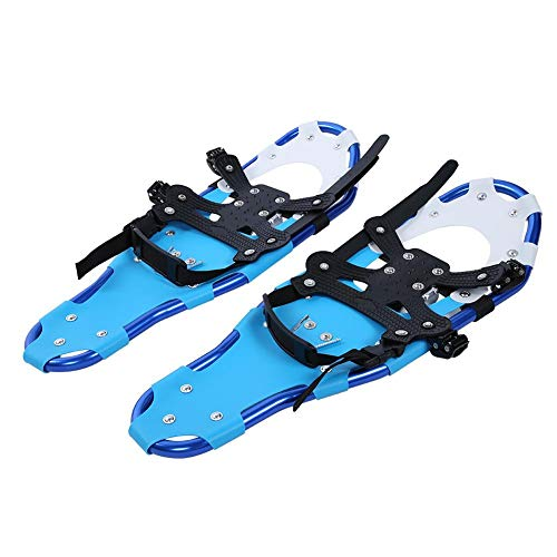 Raquetas de nieve 1 par 25 pulgadas Deportes al aire libre Hombres Mujeres Raquetas de nieve Zapatos de caminata con bolsa de transporte