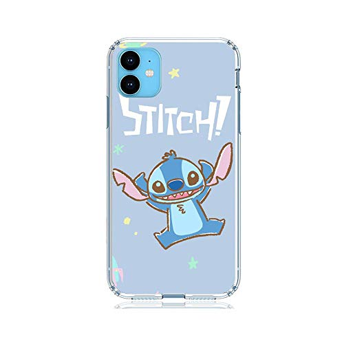 Koude Clear Coque Doux Clarity Shockproof Soft Slim Case TPU Cover for Apple iPhone 11-Stitch-Ohana 5