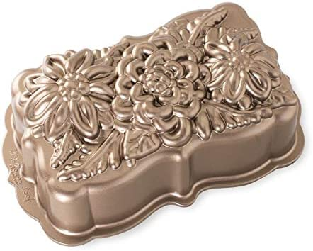 Nordic Ware 93148 Wildflower Loaf low-pricing Pan pack Max 55% OFF of Size Copper One