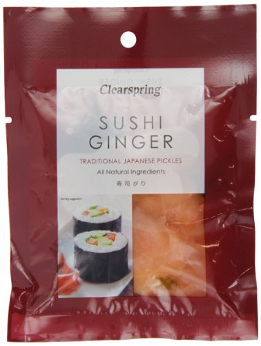Clearspring - Jengibre para sushi - 105 g