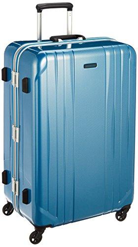 [ワールドトラベラー] スーツケース サグレス ストッパー付 91L 69 cm 5.4kg ブルーカーボン