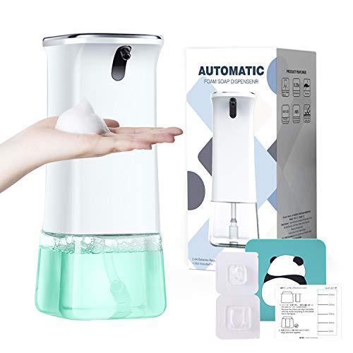 SCL Distributeur de Savon Automatique sans Contact Distributeur Savon à Capteur Infrarouge pour la Maison/Cuisine/Salle de Bain/hôtel