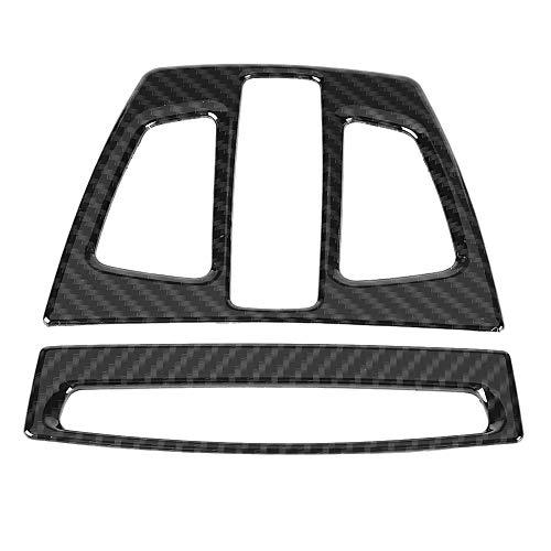 Suuonee diafragma voor leeslamp, 2 stuks ABS-diafragma voor leeslamp, koolstofvezel-design
