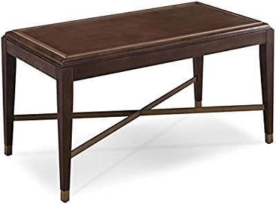 hardwood coffee table rustic bowery hill coffee table in pitch driftwood amazoncom porter mid century modern brown kitchen