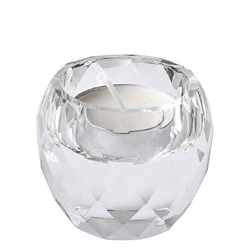 Gifftiy kroonluchter met kaarsen, kandelaar van glas, mini-kandelaar van kristal, 5 soorten decoraties voor het huis, bruiloftsdecoratie, zonder kaarsen