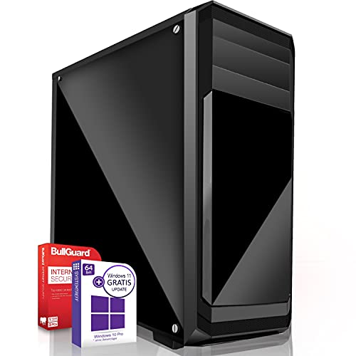 Multimedia Office PC Intel Core i9 9900K 8x5.0GHz 9.Generation  Marken Board 16GB DDR4 256GB M.2 SSD u. 512GB SSD Intel UHD 630 Grafik 4K DVI USB 3.1 SATA3 Windows 10 Pro 3 Jahre Garantie