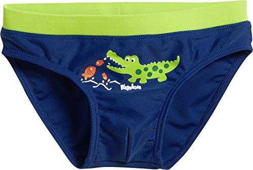Playshoes Jungen UV-Schutz Krokodil Badehose, Blau (Marine 11), 98 (Herstellergröße: 98/104)