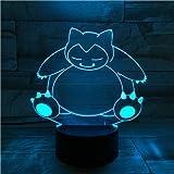 Tischlampe Schlafzimmer Touch Sensor Dekoration Nachtlicht Kinder Kinder Geschenk Cartoon Spielzeug Haustier Elf Nachtlicht
