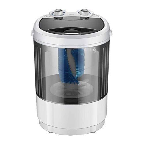 WANGIRL Portable Pratico Mini-Lavatrice capacità 4.5 kg Lavaggio di Scarpe Macchine Portatile Intelligente Pigro Funzionamento Centrifuga