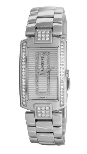 Raymond Omdat Watches dameshorloge Shine analoog kwarts roestvrij staal 1800-ST2-42381