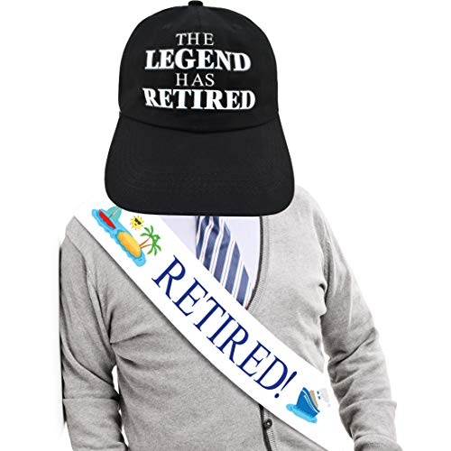 JPACO Legend Has Retired Retirement Sash