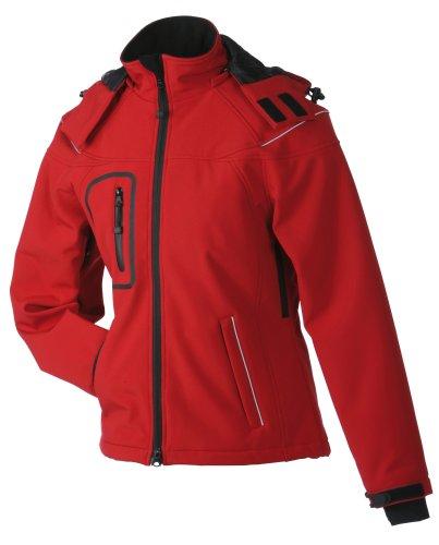 James & Nicholson Damen Jacke Softshelljacke Winter rot (red) Large