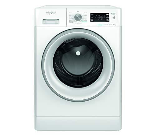 Whirlpool FFB 8248 SV IT, Lavatrice a Carica Frontale a Libera Installazione, C, 8kg, 1200 giri min