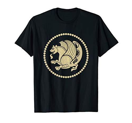 Simurgh Iranian Mythology Senmurv Persia Symbol T-Shirt