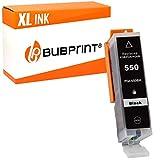 Bubprint Druckerpatrone kompatibel für Canon PGI 550 XL PGI-550XL PGBK 550XL für Pixma IP7250 IP8750 IX6850 MG5450 MG6450 MG7550 MX920 MX925 Schwarz