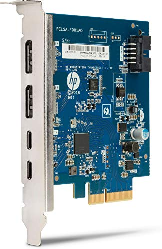 HP Dual Port Thunderbolt 3 PCIe AIC