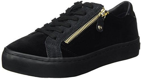 Tommy Hilfiger Damen Velvet Dress Sneaker, Schwarz (Black 0), 40 EU