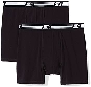 2-Pack Starter Men's Stretch Performance Cotton Boxer Brief