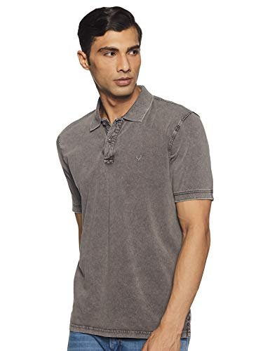Solly Jeans Co. Men's Solid Regular Fit T-Shirt