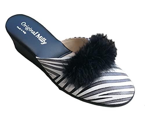 Original Milly 102 - Zapatillas de estar por casa o novia, diseño...