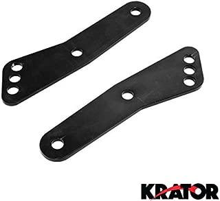 Krator LL009 Lowering Links (Honda Motorcycle Cbr 600 F2 F3 F4 F4I 1100Xx Black (1991-2006)