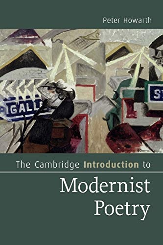 The Cambridge Introduction to Modernist Poetry Paperback (Cambridge Introductions to Literature)