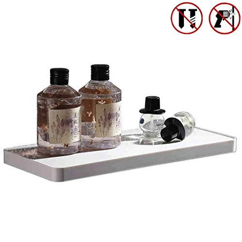 Mr.T Badkamer toilet opbergrek, badkamer plank Traceless Instal en douche frame met doek ophangsysteem ruimte-aluminium handdoekverwarmer