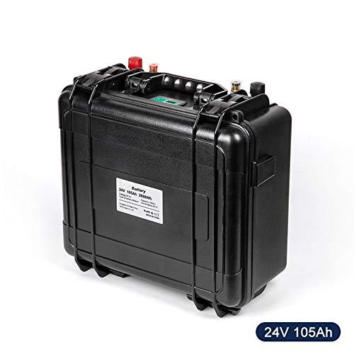 Qingmei LiFePO4 24V 100Ah Akku Wasserdicht mit 100A BMS für Ups Power Solarbatterie, verwenden 3,2V 105ah Zelle