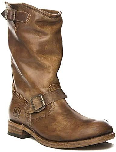 Sendra Boots Biker 2944 Chiquita Olimpia Wax, Braun - Camel - Größe: 38 EU