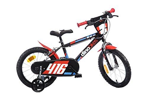Dinobikes Dino Bikes–416US Bicicletta Ragazzo Marca 16Pollici di 5a 8Anni